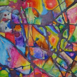 colorful painting Art of Recovery 2020